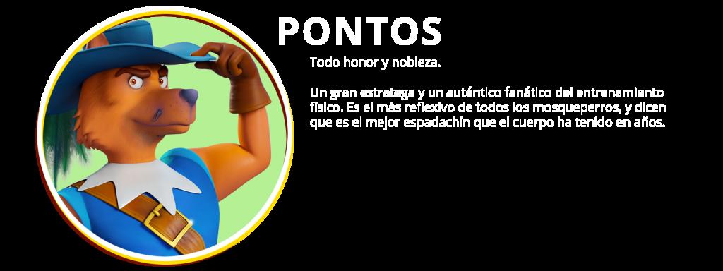 PERSONAJES 05 PONTOS